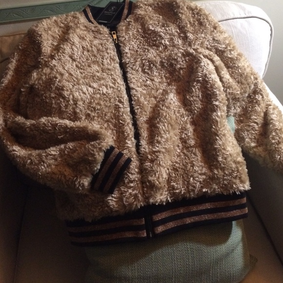 047152bb5 Rino & Pelle Faux Fur jacket XS (eur 38) NWT